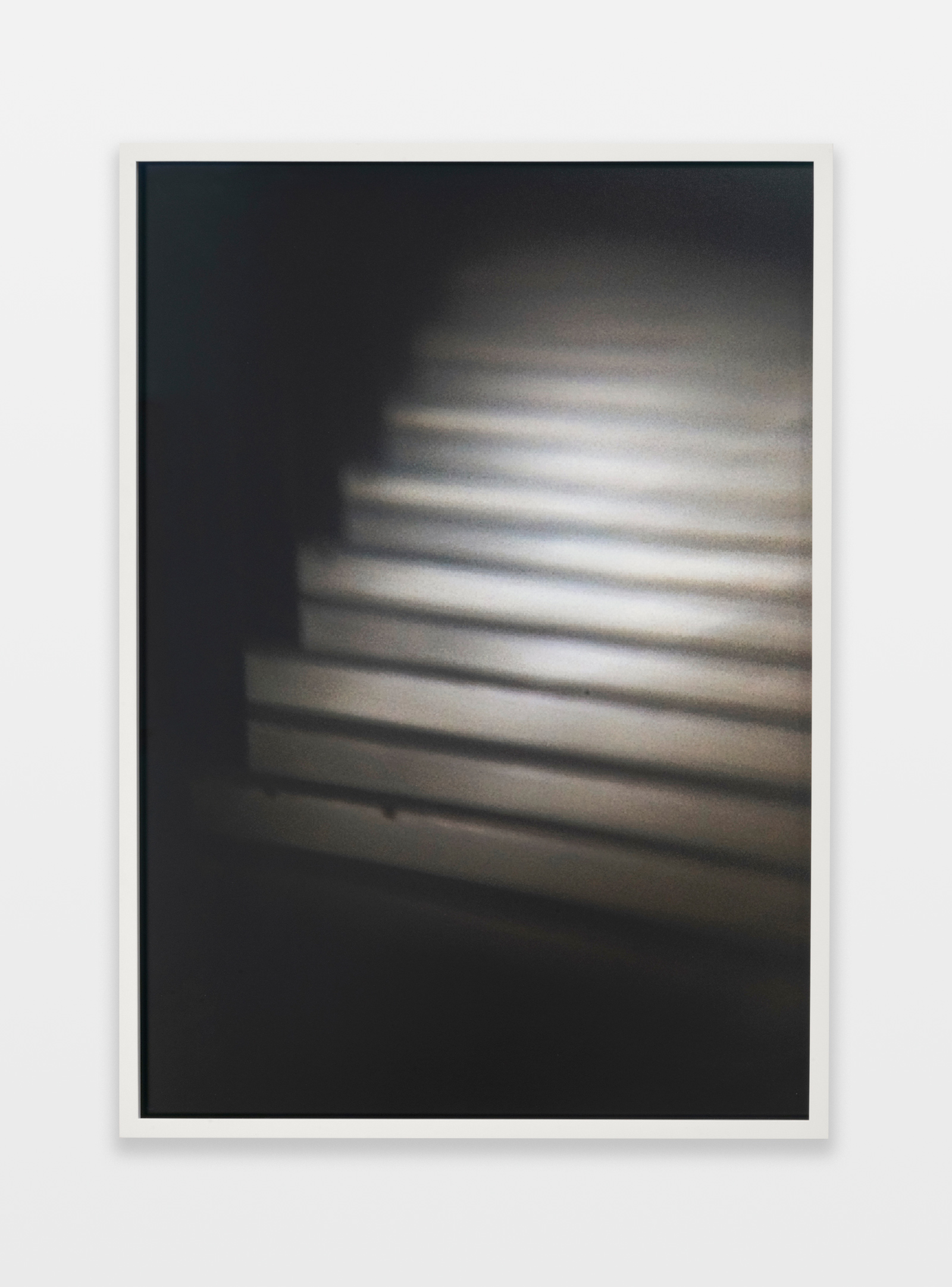Barbara Ess, Stairs [Shut-In Series], 2018-2019, archival pigment print, 30.56h x 21.94w in.