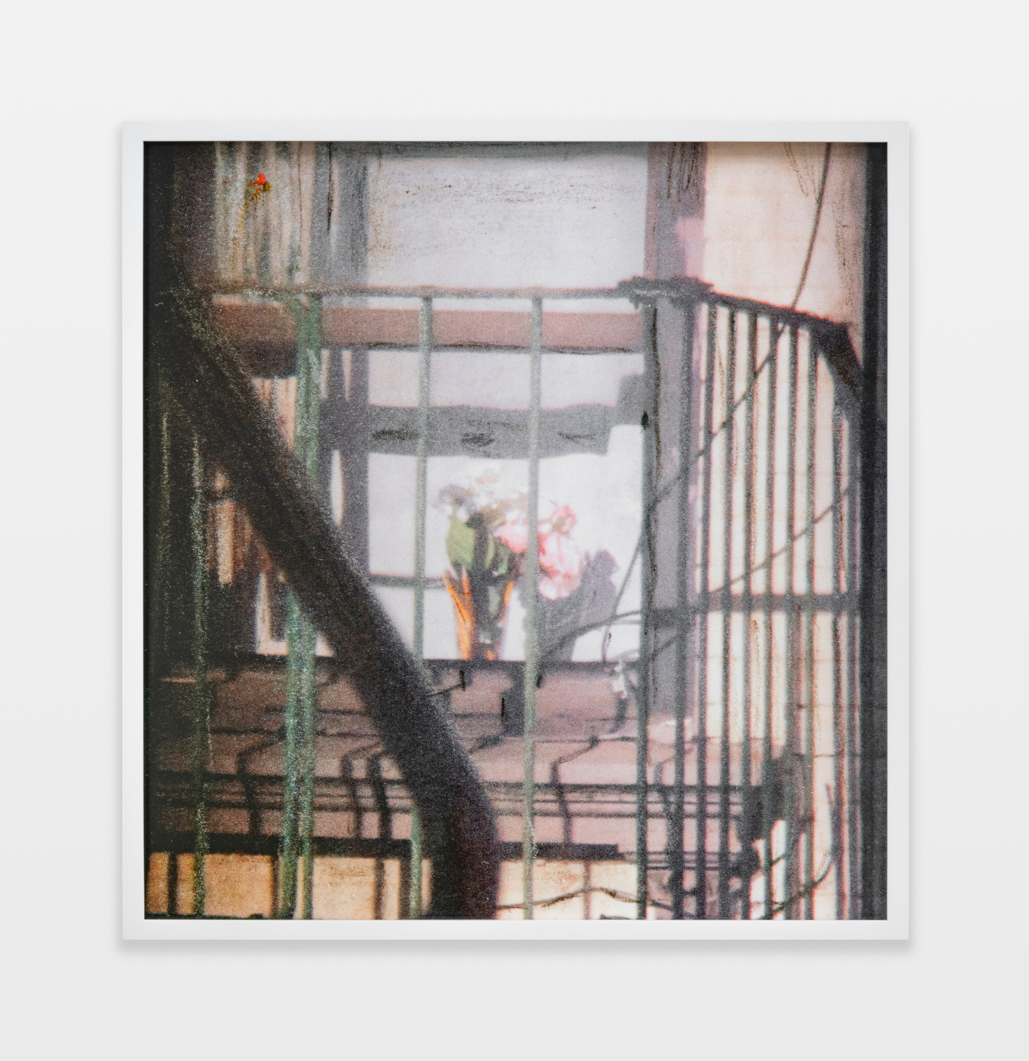 Barbara Ess, Fire Escape [Shut-In Series], 2018-2019, archival pigment print, 23.75h x 22.75w in.
