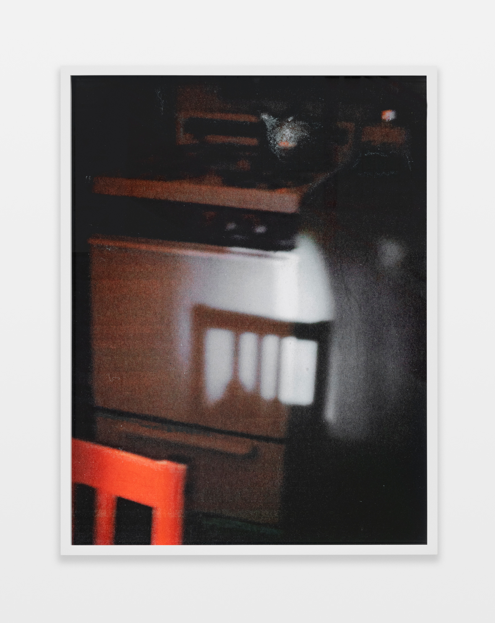 Barbara Ess, Kitchen [Shut-In Series], 2018-2019, archival pigment print, 29.19h x 22.19w in.