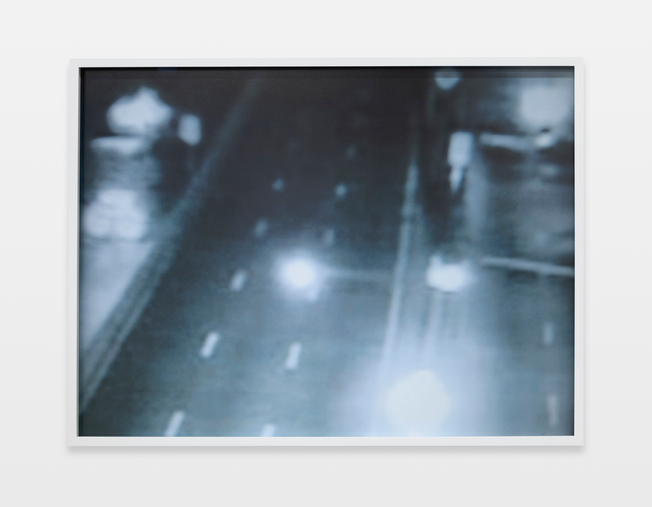 Barbara Ess, Traffic [Remote Series], 2011, archival pigment print, 24h x 31.94w in.