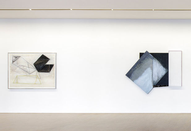Installation view, Activated Walls and Recent Works, Galerie Thomas Zander, Cologne, Germany, 2018