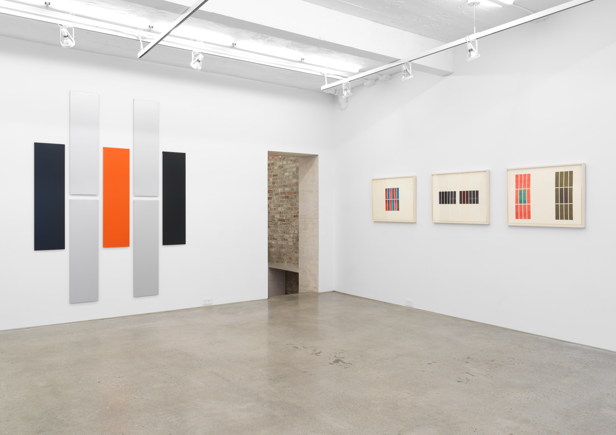 Installation view, Don Dudley: Early Work, Magenta Plains, New York, NY, 2019