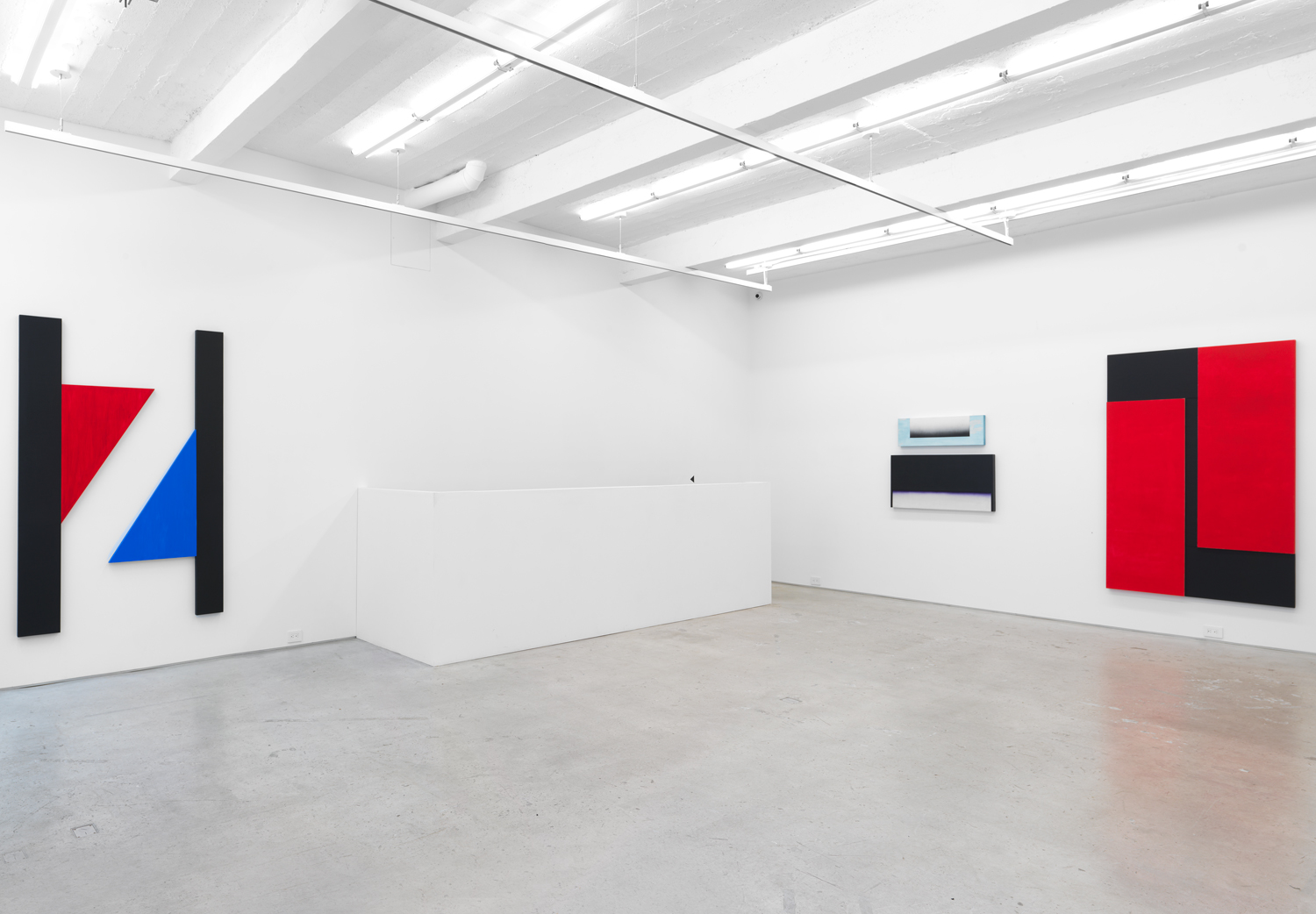 Installation view, Don Dudley: Recent Work, Magenta Plains, New York, NY, 2017