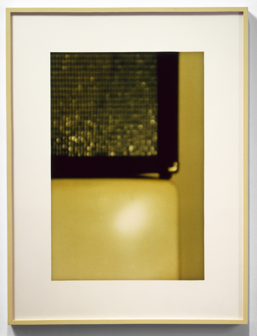 Jennifer Bolande, Conjunction, 1987, C print, 25.5h x 16.5w in.