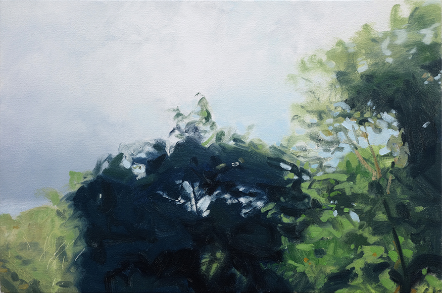 Nathaniel Robinson, Untitled, 2019, oil on canvas, 16h x 23w in.