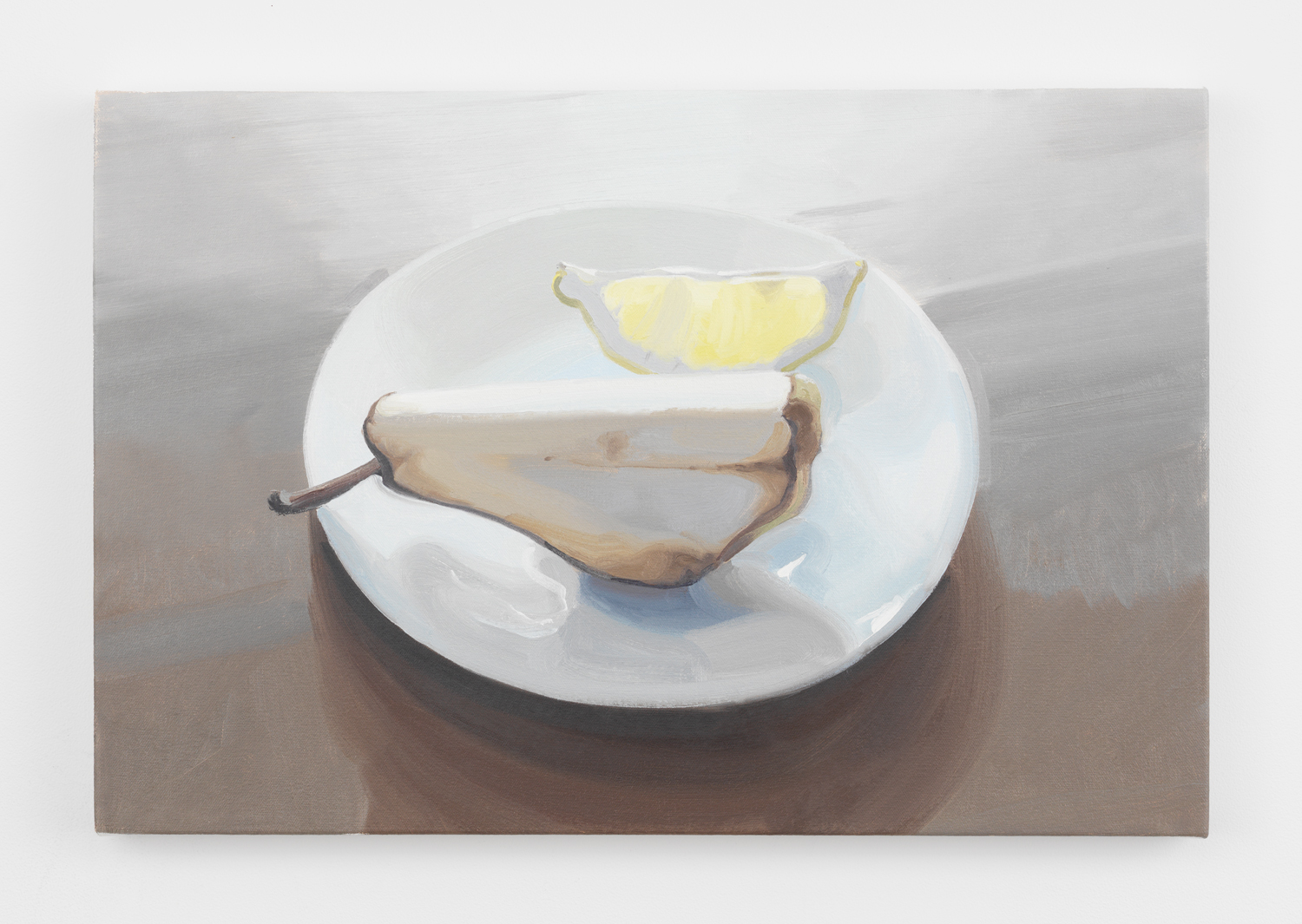 Nathaniel Robinson, Untitled, 2020, oil on canvas, 16h x 24w in.